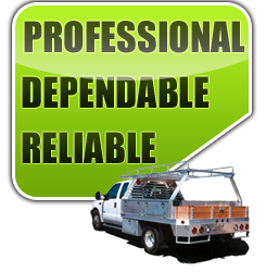 professional dependable reliable
