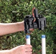 Redwood City CA sprinkler contractor installing a backflow device